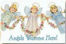 MAGNET cute magnets by Leanin' Tree, Angels Welcome Here!