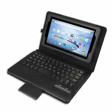 Bluetooth Keyboard Leather Case Cover for New 2015 Amazon Kindle Fire HD 7/8/10