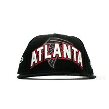Atlanta Falcons New Era NFL Draft 59FIFTY (Black/White) Cap Hat Fitted