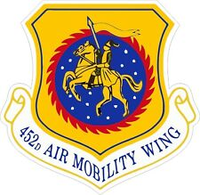 US Air Force USAF 452d Air Mobility Wing Decal / Sticker