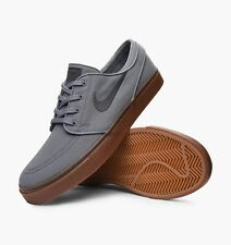NIKE SB ® ZOOM STEFAN JANOSKI CANVAS COOL GREY BLACK MEN'S SKATEBOARDING SHOE