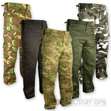 MILITARY ARMY PANTS US STYLE COMBAT BDU TROUSERS CAMO BATTLE DRESS