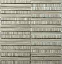 Porcelain mosaic tiles 15x150 mm strip for kitchen, bathroom and feature wall