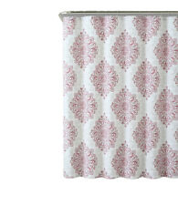 """Tranquility 100% Cotton Fabric 72x72"""" Shower Curtain (Available in 3 Colors)"""
