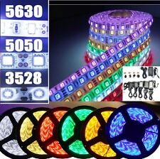 5-20m 3528/5050/5630SMD waterproof 300LED Strip Light Flexible+DC power supply