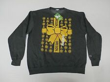 University of Oregon Men's Graphic Logo Present Sweater Charcoal Size XL NWT