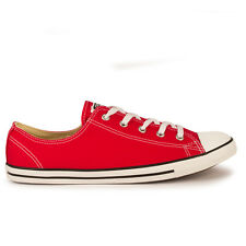 Womens Converse Dainty Oxford Varsity Red Trainers
