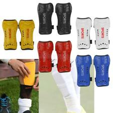 Pair Children Adult Shin Pads Guard Sport Leg Protector Gear for Football Soccer