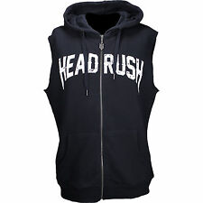 Headrush Eroded Bullet Cut Off Hoodie