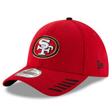 San Francisco 49ers New Era Tech Grade 39THIRTY Flex Hat - Scarlet - NFL