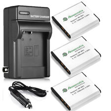 NP-BN1 Battery + Charger Combo Kit For Sony Cyber Shot DSC-W310 DSC-W320 W330