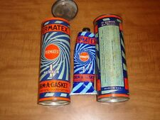 Lot of 2 Vintage Permatex No 1 Cans Form A Gasket Free Shipping