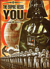 Star Wars The Force Awakens XXL Glossy Propaganda Poster Art Print RARE!