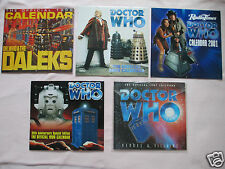 RARE COLLECTABLE DOCTOR WHO CALENDARS -  MINT CONDITION