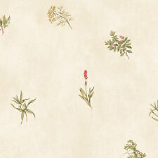 "Norwall Wallcoverings Inc Kitchen Elements 32.7' x 20.5"" Herb Sidewall Wallpaper"