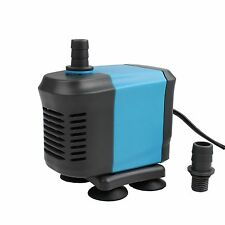 400-1455GPH Aquarium Submersible Water Pump Pond Fish Tank Powerhead Hydroponic