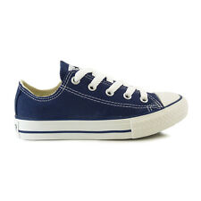 Youths Converse Navy Chuck Taylor All Star Lo Trainers