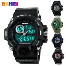 Men's Digital Analog Sports Military Army Waterproof S SHOCK G style Wrist Watch
