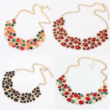 Cute Retro Jellybean Girls Collar Choker | Colorful Pinup Style Necklace Jewelry