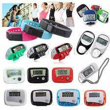 LCD Digital Multi Pedometer 3D Sensor Calorie Counter Walking Step Distance Many