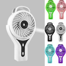 Portable USB Humidifier Air Diffuser Aroma Mist Maker & Desk USB Mini Fan Cooler