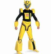 Transformers Deluxe Bumblebee Costume New Size 7-8 HTF