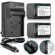 NP-FH70 Battery + Charger For Sony NP-FH30 NP-FH40 NP-FH60 NP-FH90 NP-FH100
