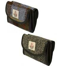Traditional Harris Tweed Ladies Butterfly Purse Boxed From Scott & MacKenzie