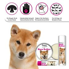 SHIBA INU NOSE BUTTER® HANDCRAFTED BALM FOR DRY, ROUGH DOG NOSES TINS/TUBES