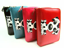 Ladies Womens Girls New High Quality Fun Dog Motif Purse Wallet Coin Pouch