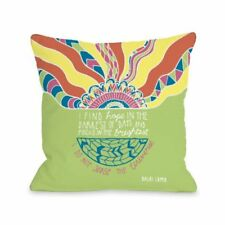 One Bella Casa Find Hope in the Darkest Days Throw Pillow