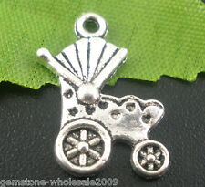 Wholesale Mixed Lots Baby Carriage&Buggy Charms Pendants
