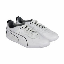 Puma BMW MS MCH Lo NM Mens White Leather & Synthetic Lace Up Sneakers Shoes