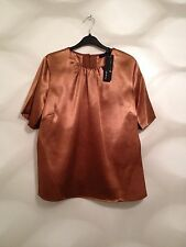 Brand New Ladies Gold Top Size 16, M&S RRP £39.50