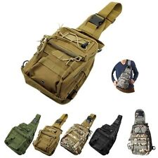 Outdoor Sport Military Tactical Backpack Camping Hiking Trekking Shoulder Bag@