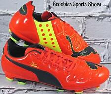 NEW Mens Puma EvoPower 3 FG Soccer Cleats Size 9 Orange/Volt