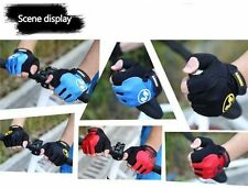 Breathable Cycling Bike Bicycle Sports GEL Shockproof Pad Half Finger Glove M-XL
