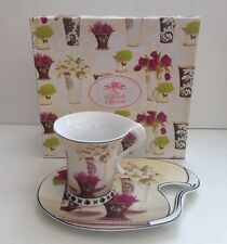 The Leonardo Collection Kathryn White By Art In Motion Cup & Saucer