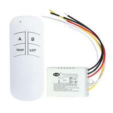 220V Wireless ON/OFF 1/2/3 Ways Lamp Remote Control Switch Receiver Transmitter