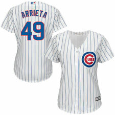 Women's Majestic White Jake Arrieta Chicago Cubs Cool Base Player Jersey