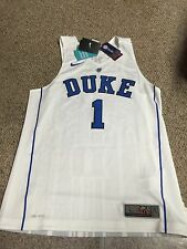 Nike #1 Jabari Parker Duke Blue Devils Authentic Elite Basketball Jersey