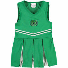 Notre Dame Fighting Irish Girls Youth Cheer Dress - Kelly Green - College