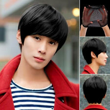 Anime Handsome Boys Short Wig New Vogue Sexy Men's Male Hair Cosplay Wigs & Cap