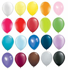 "10"" INCH LATEX HELIUM & AIR QUALITY BALLOONS ANY PARTY WEDDING BIRTHDAY BALOONS"