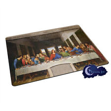 The Last Supper by DaVinci - Tempered Glass Bar & Kitchen Cutting Board