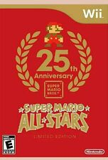 SUPER MARIO ALL STARS 25TH ANNIVERSARY LIMITED EDITION WII & WII U NEW & SEALED