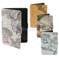 World Map Patten Case Cover Skin Shell For Amazon Kindle Paperwhite 1/2/3 Ebook