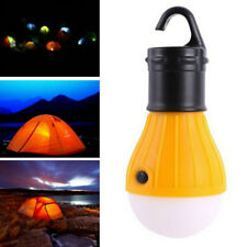 Outdoor Hanging 3 LED Camping Hiking Tent Light Bulb Fishing Lantern Night Lamp