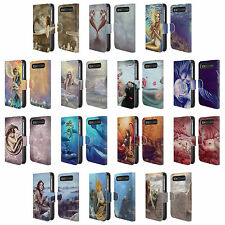 SELINA FENECH MERMAIDS LEATHER BOOK CASE FOR BLACKBERRY ASUS ONEPLUS PHONES
