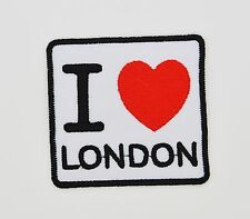 I Love Paris Souvenir City Travel Sew Iron on Applique Patch Embroidered